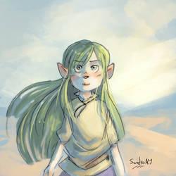 Eina of the steppe