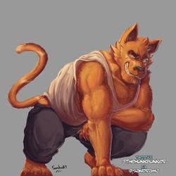 Hunk tiger thing