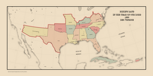 The Confederate States of America in 1880