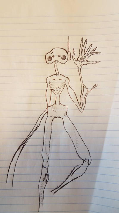 Waiting Room Sketch by SebianHide