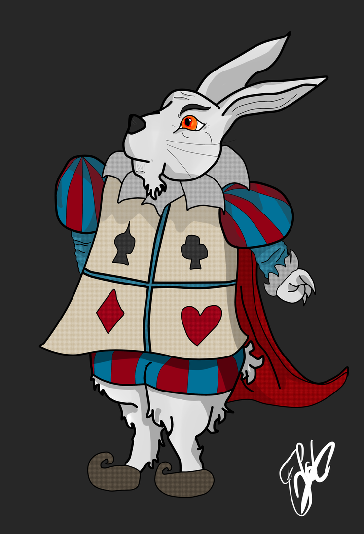 Wonderland: The bunny by FlotVitality