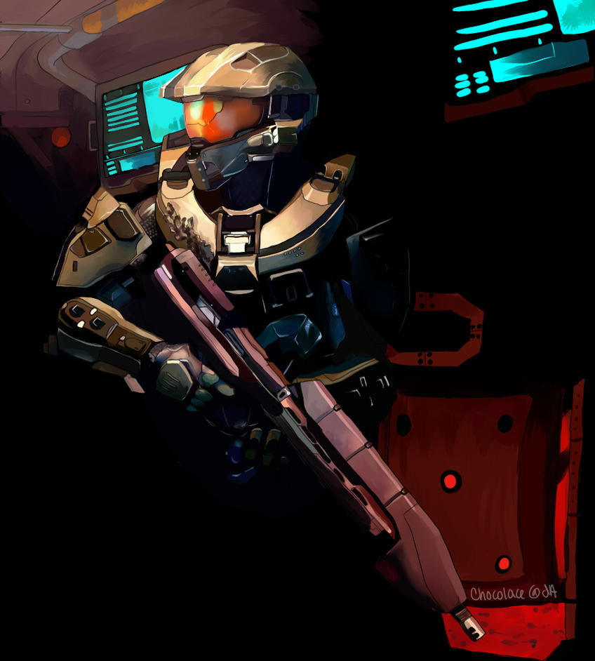 Master Chief by Chocolace