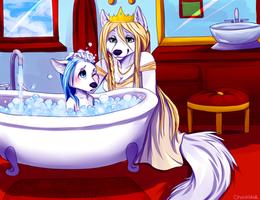 Bubble bath by Chocolace
