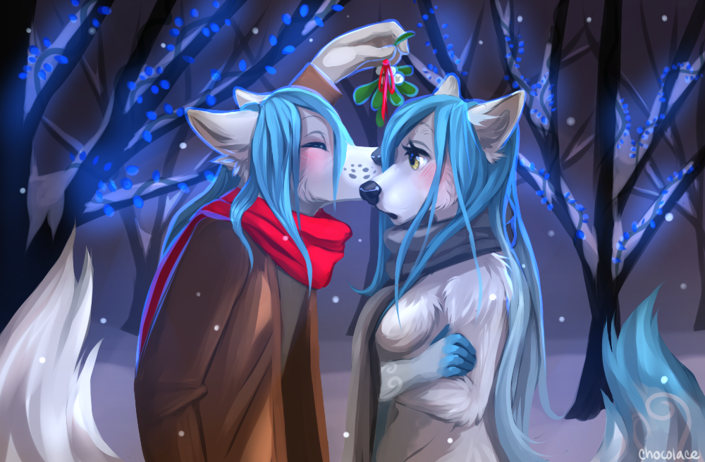 Friendly Christmas by Chocolace