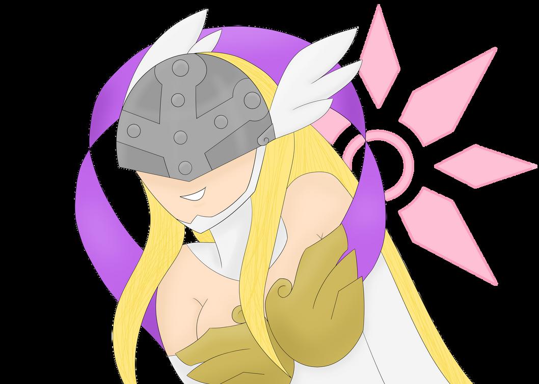 Angewomon by Ridermon