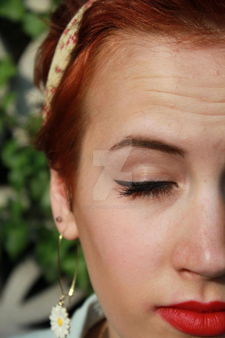 1940s Makeup By Fern Lianne On Deviantart - 1940-makeup