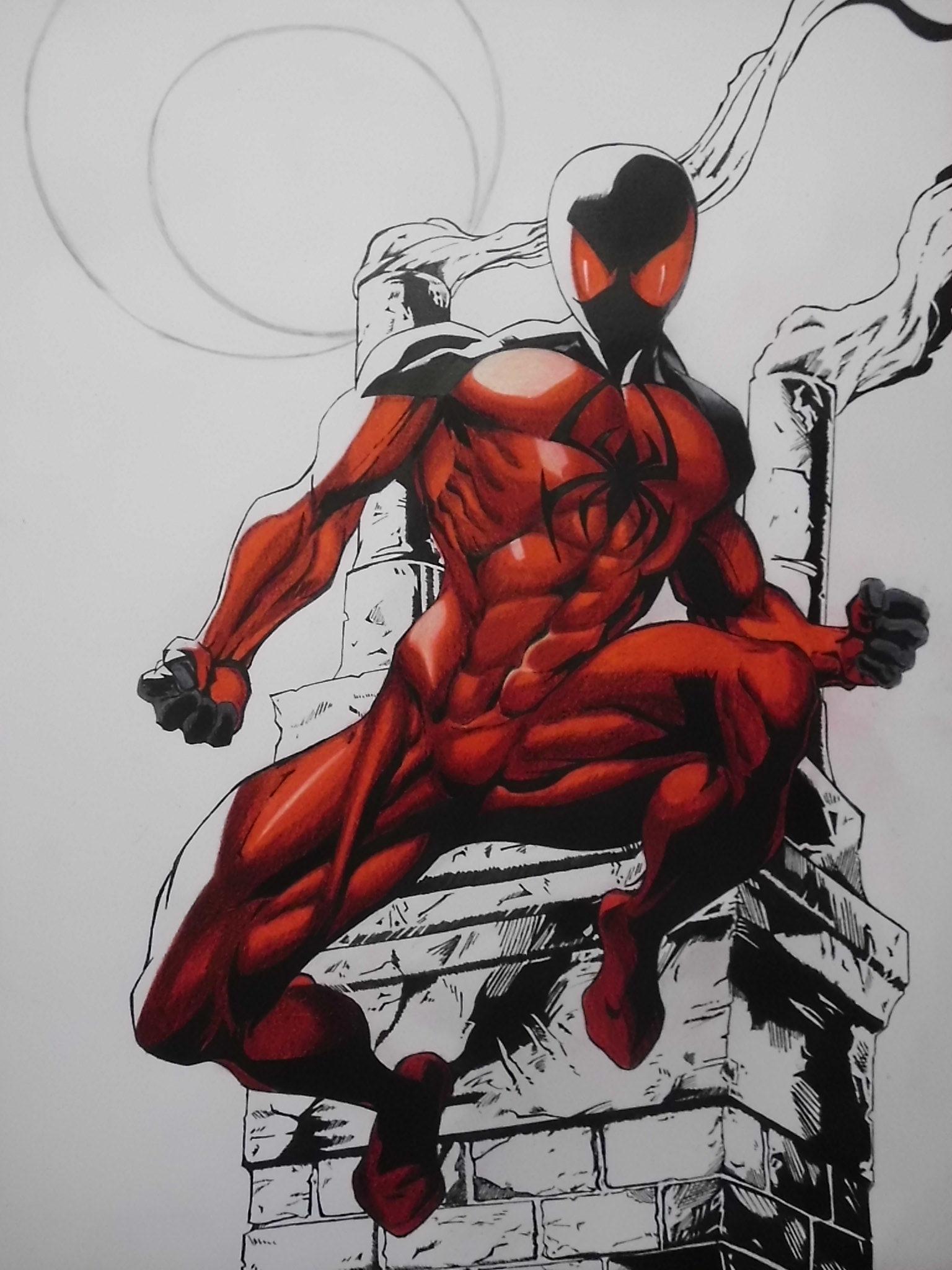 22cb94e5 Kaine (Scarlet Spider) by ScarlettCris96 on DeviantArt