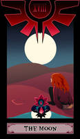 Otherside tarot: The Moon by TheScarlet1