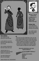 Tower OCT Ref: Madam Ginger Diddleston by TheScarlet1