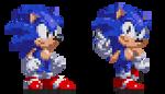 Scarlet Classic Sonic Sprites