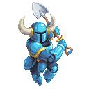 Shovel Knight 128x128 pixel art by TheScarlet1