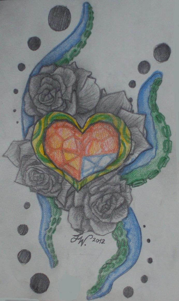 Zelda Heart Container Tattoo Zelda Heart Container Tattoo