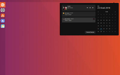 Unity 8 Reborn ( Notification Panel ) by 4SK