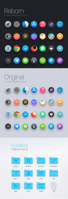 OSXONE Icon Theme UPDATED!