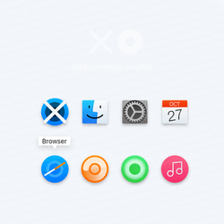 XONE icon design for LINUX