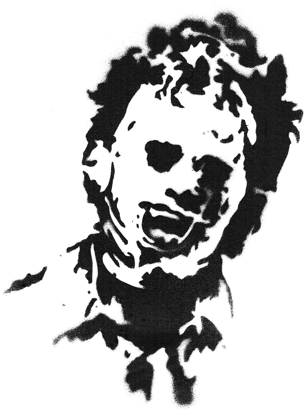 The gallery for gt leatherface pumpkin stencil