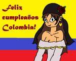 Feliz cumpleanos Colombia