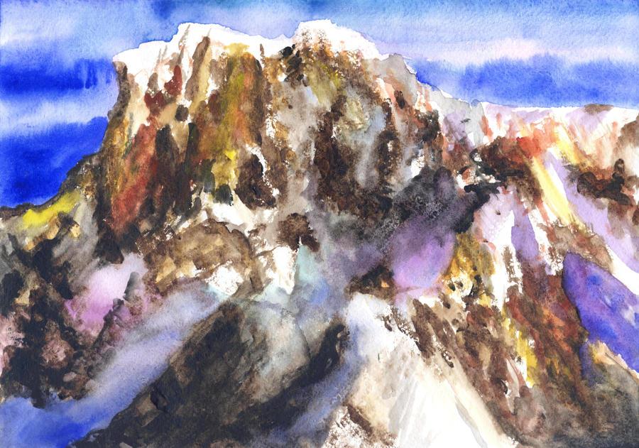 Mont Blanc by Genny-Raskin
