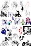 Random Oekaki Doodles 3