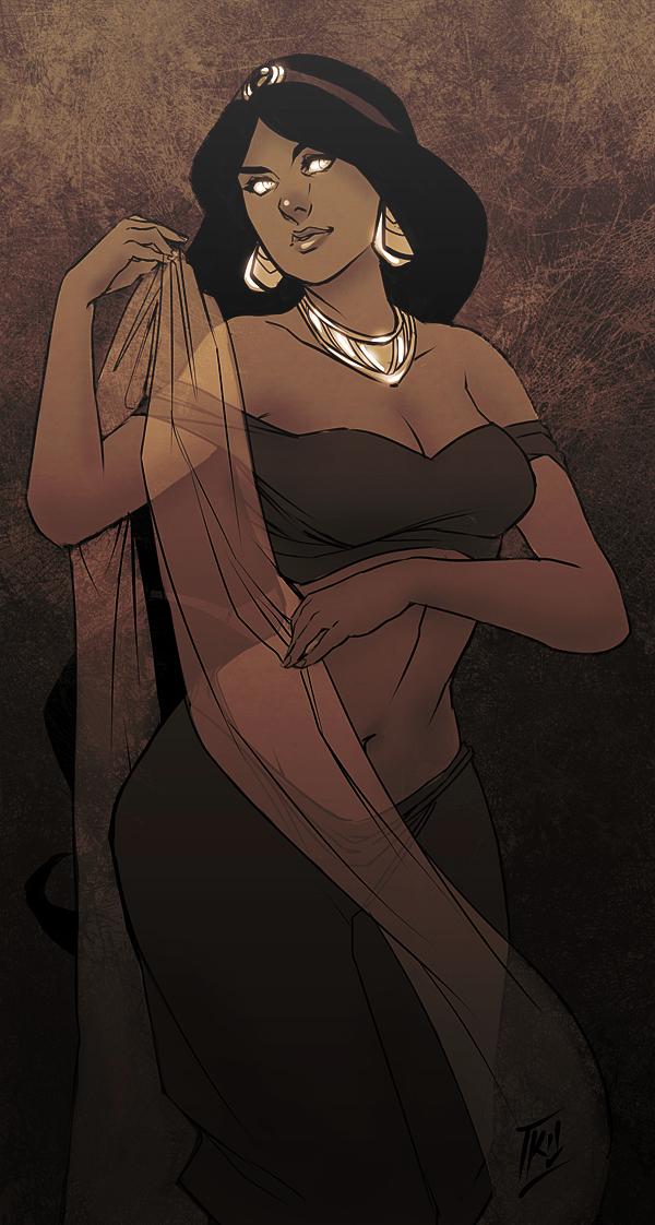 Jasmine by kathrynlayno