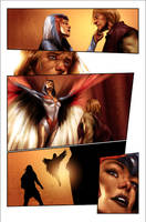 Origin of He-Man Page 16 Colors by kathrynlayno