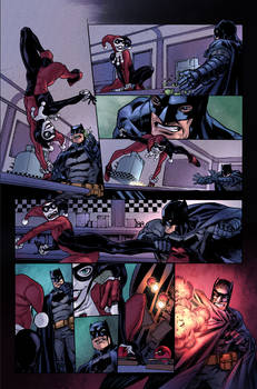 Legends of the Dark Knight #49 Page 3 Colors