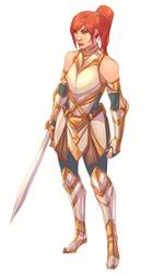 Teela Armor Thingy by kathrynlayno