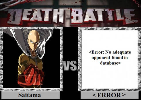 Death Battle - Saitama