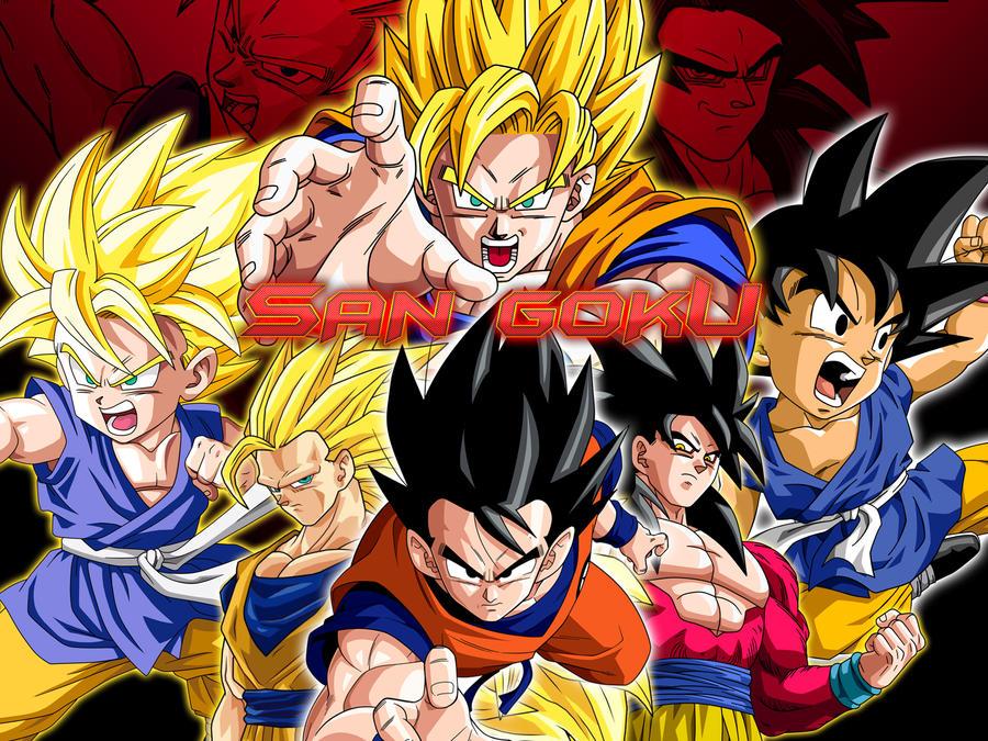 Dragon Balls San Goku Wallpaper By Jin 05 On Deviantart