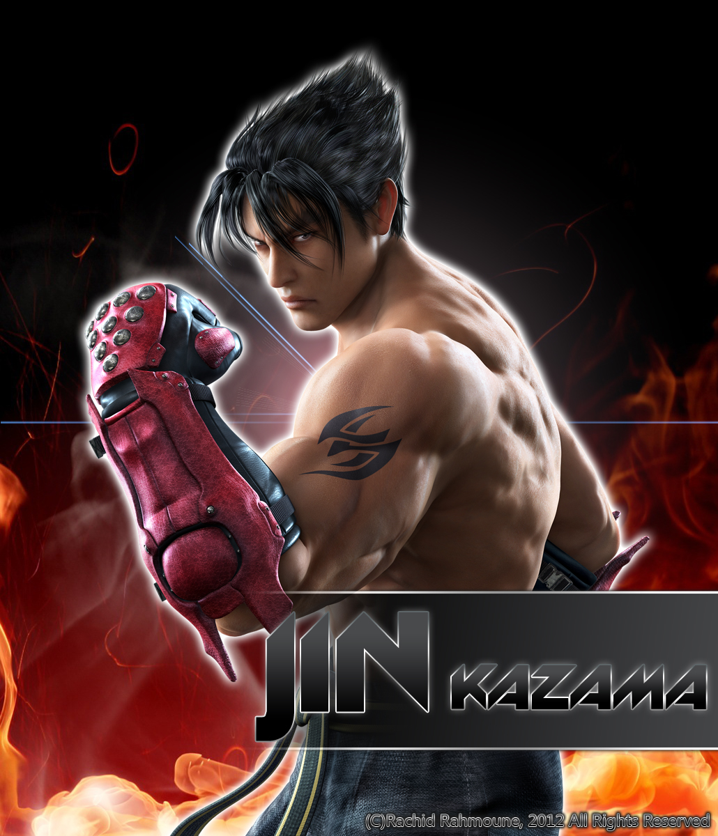 Jin Kazama (Tekken Tag Tournament 2) by jin-05 on DeviantArt