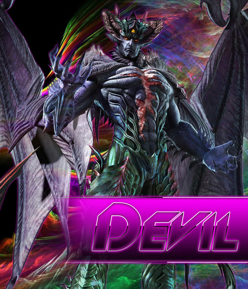 Devil Kazuya [True Form] by jin-05 on DeviantArt