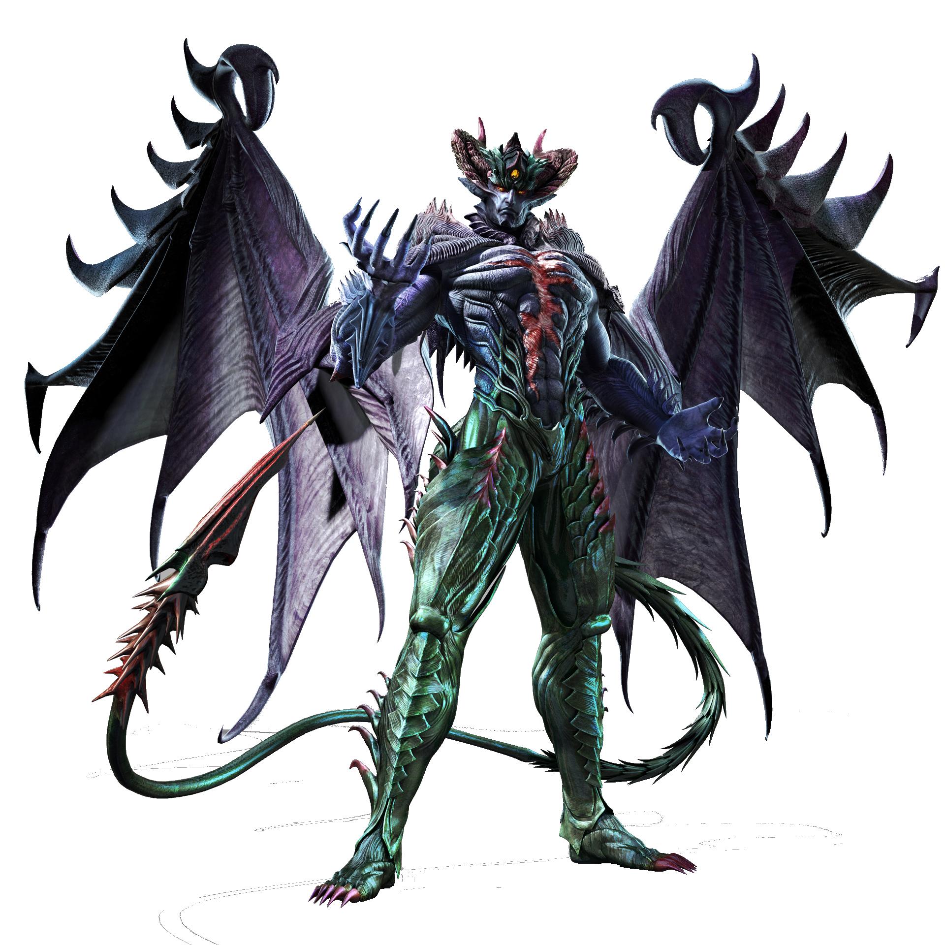 Devil Kazuya [True Form] Beta Extraction by jin-05 on DeviantArt