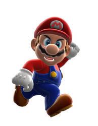 Mario #1 Remastered by BlueWolf1010