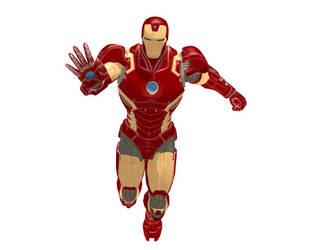 Iron Man #22 by BlueWolf1010