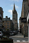 Main street of Coutances by Clemenceaudefender