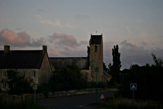 My little village at the end of the day...