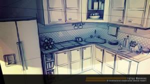 3D Interior Design - Sketch