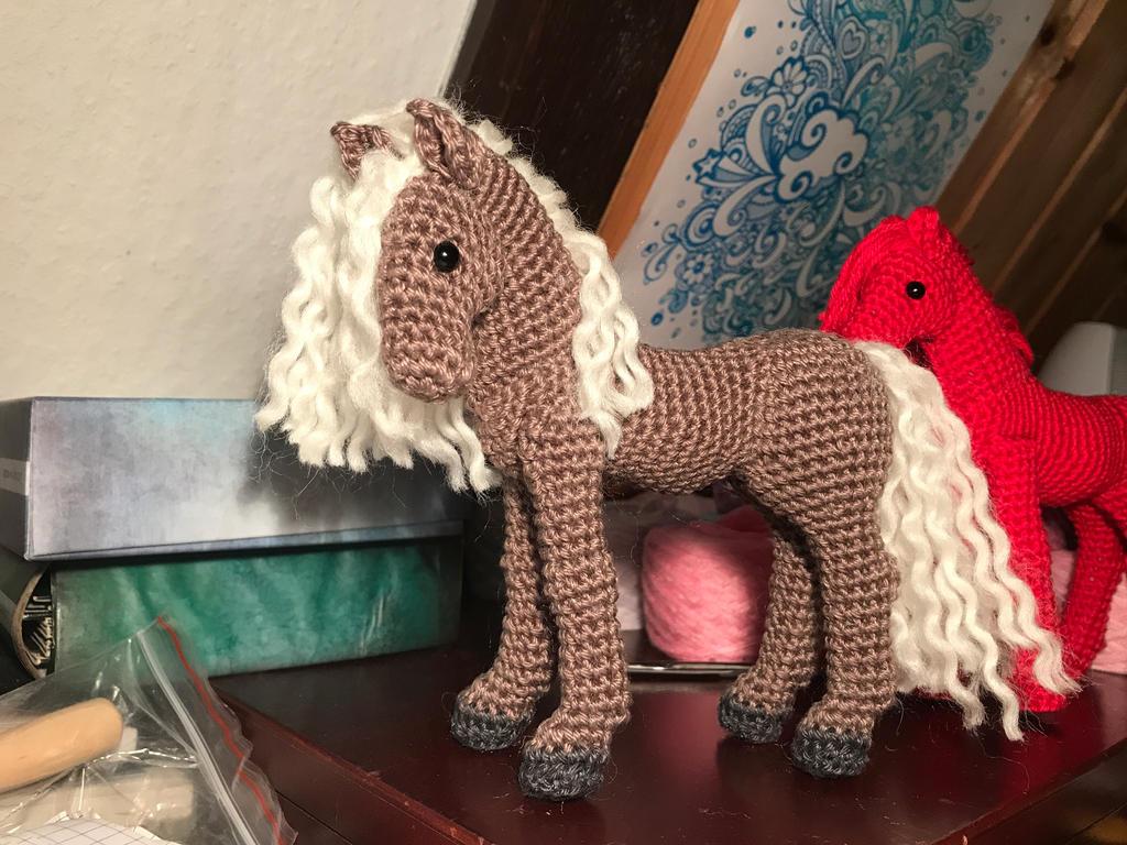 Amigurumi Horse and Donkey – A Free Crochet Pattern – Free ... | 768x1024