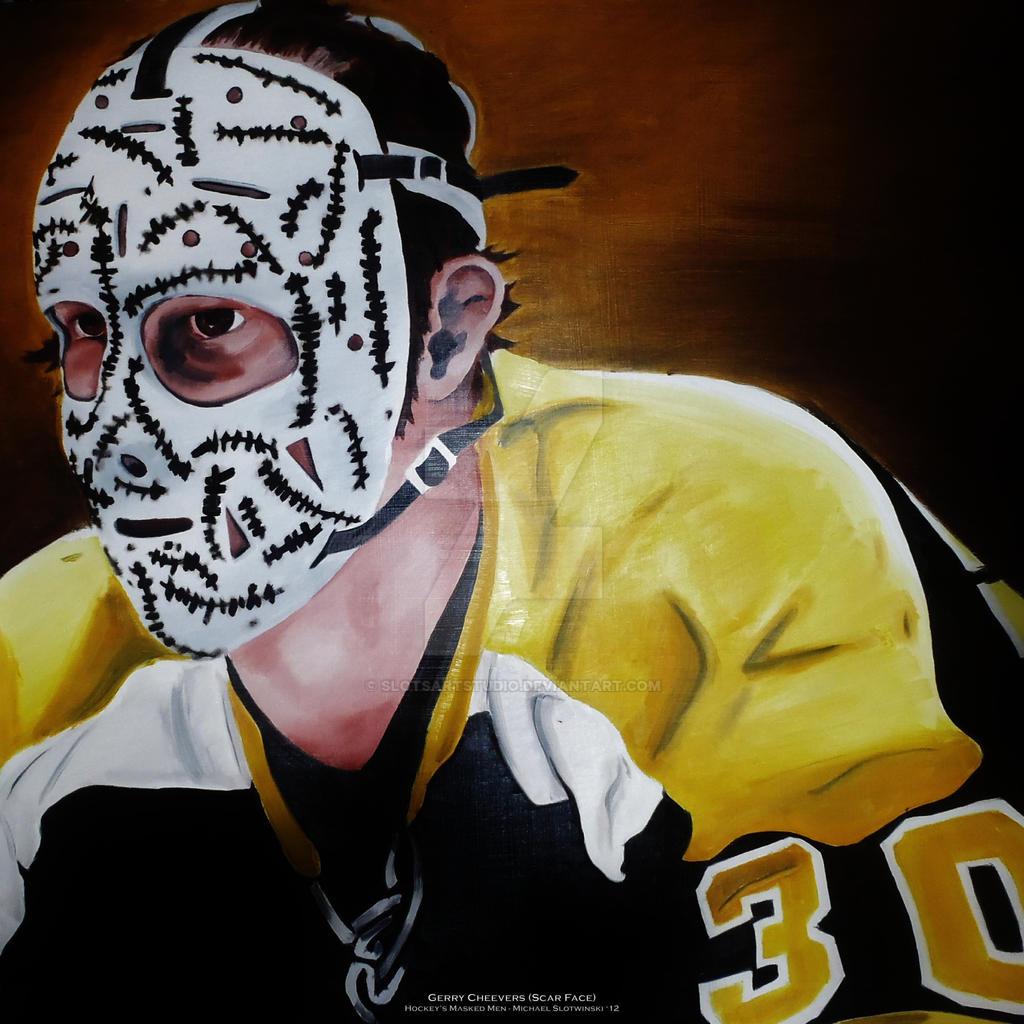 Hockey Face Mask Painting
