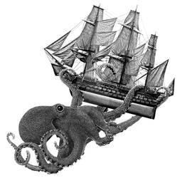 Release the Kraken by J-MEDBURY