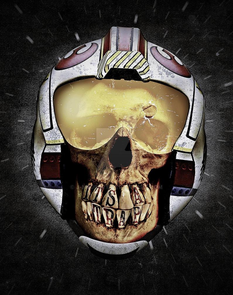 ...WAS     (Skull series 3 of 3) by J-MEDBURY