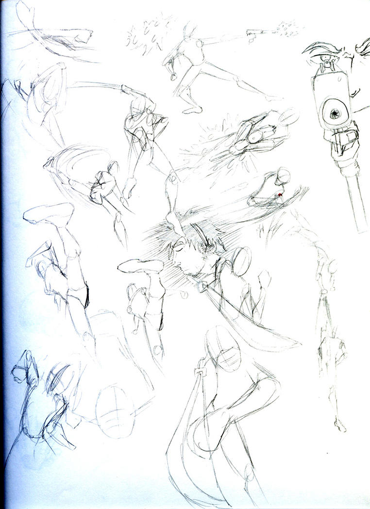Dynamic poses by uhright on DeviantArt - 197.5KB