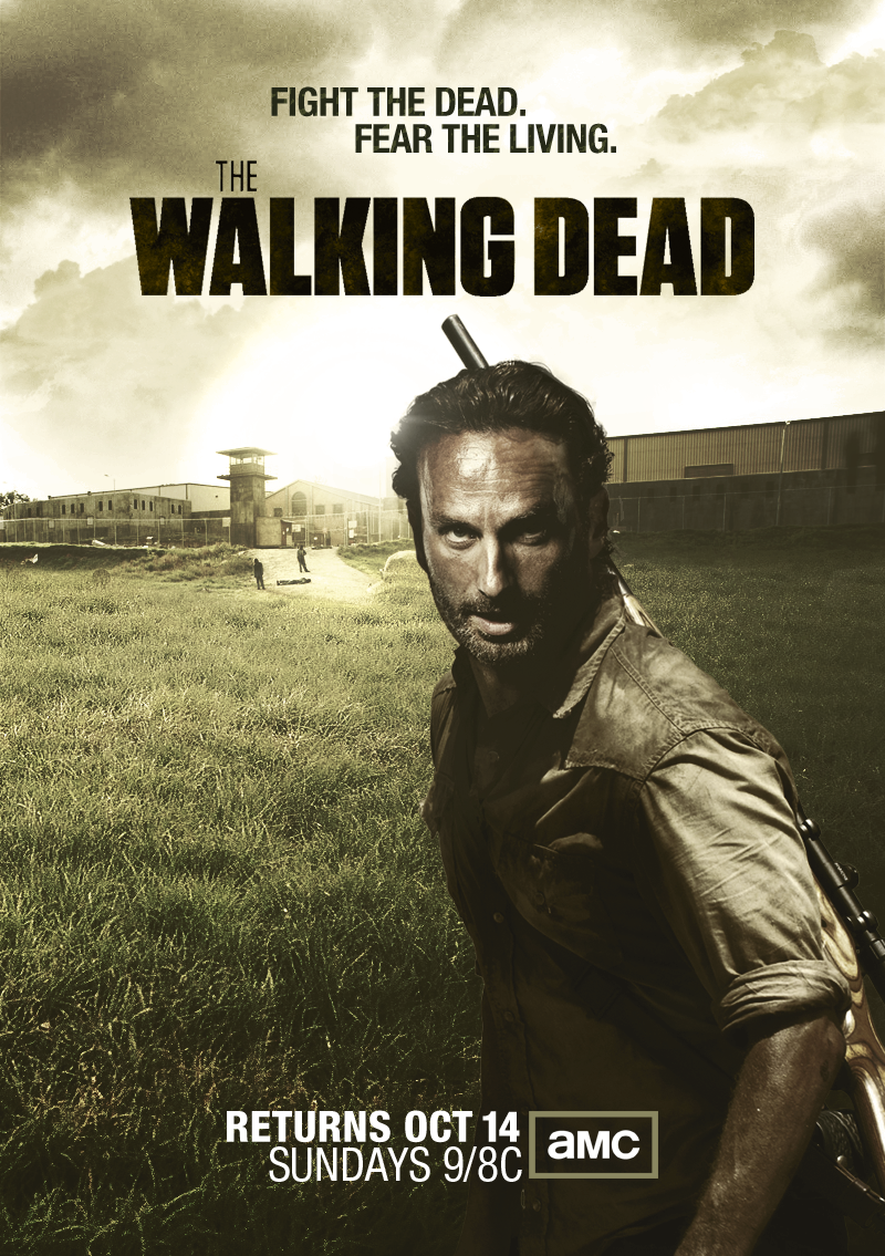 The Walking Dead Season 3 Poster By Jevangood On Deviantart
