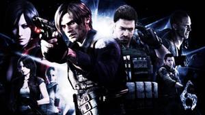 Resident Evil 6 Wall.