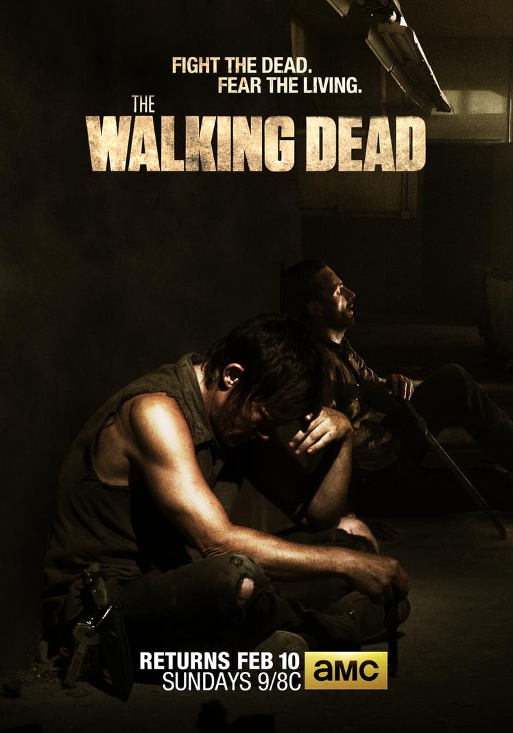 The walking dead wallpaper season 4 daryl