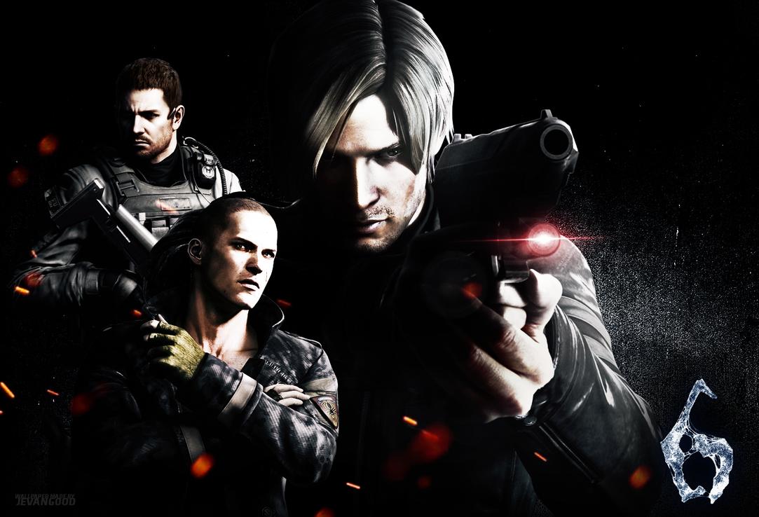Resident Evil 6 Walpaper by jevangood