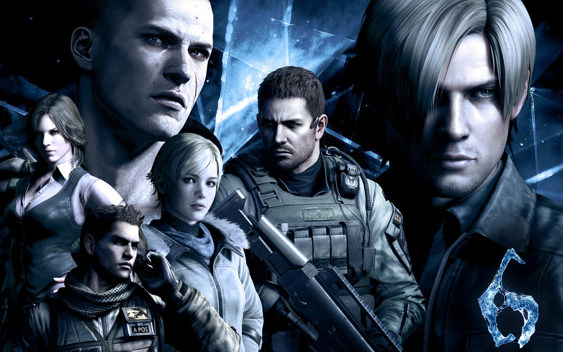 Old Resident Evil 6 Wallpaper by jevangood