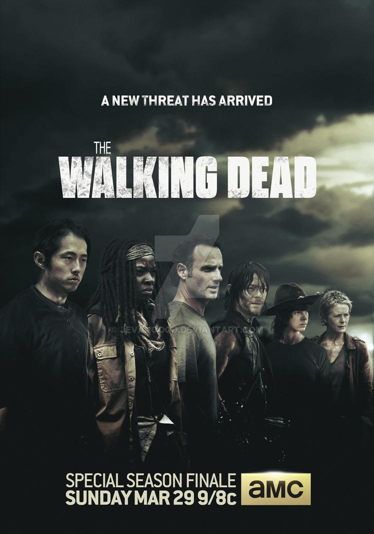 The Walking Dead Season 5 Finale Poster by jevangood