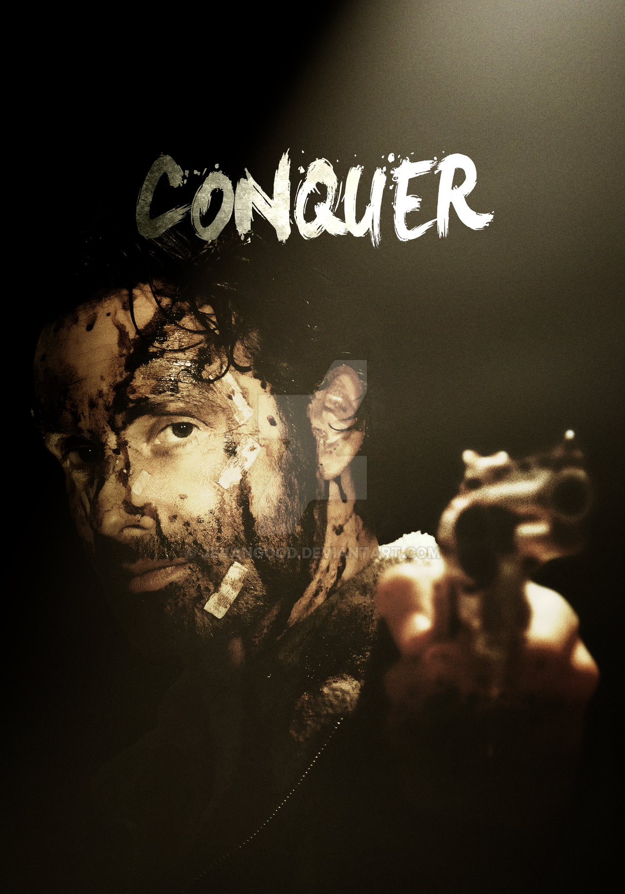 the walking dead - season 6 conquer posterjevangood on deviantart