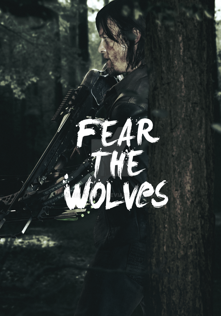 The Walking Dead - Season 6 Daryl Poster by jevangood